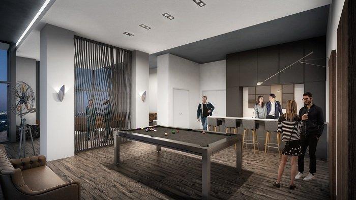Oak & Co - Interior Rendering - Party Room