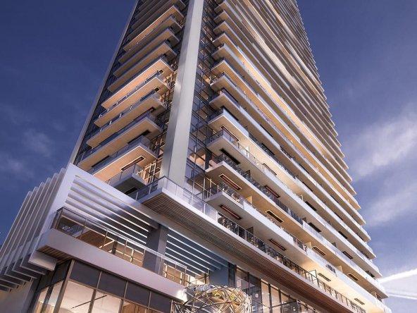 Central condo building