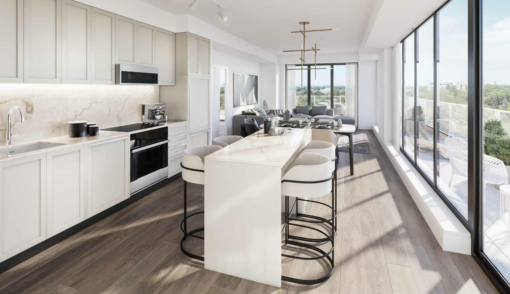 250 Lawrence kitchen