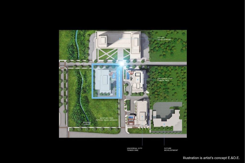 Universal City 3 site plan