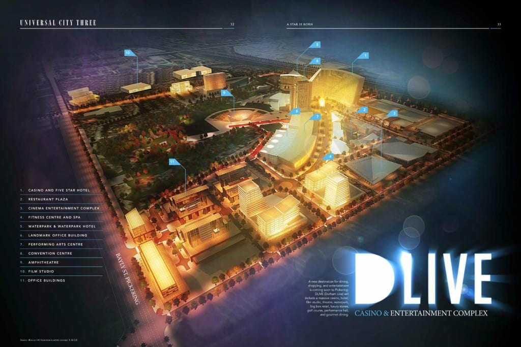 Universal City 3 DLive