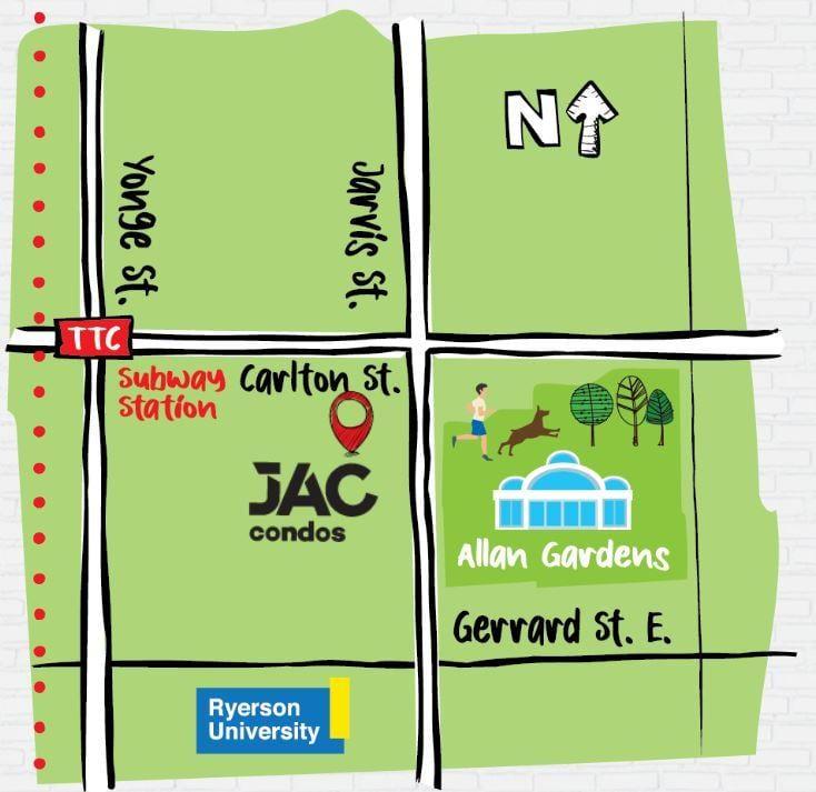 JACs Map