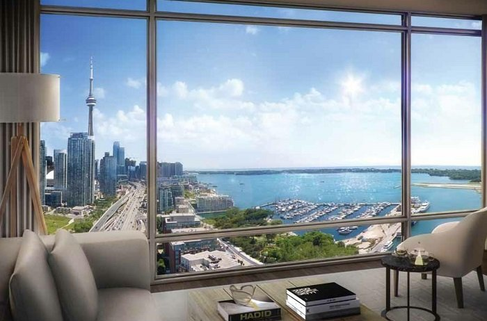 THE LAKEFRONT suite view