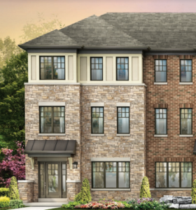 Westwind End Townhome Elevation C