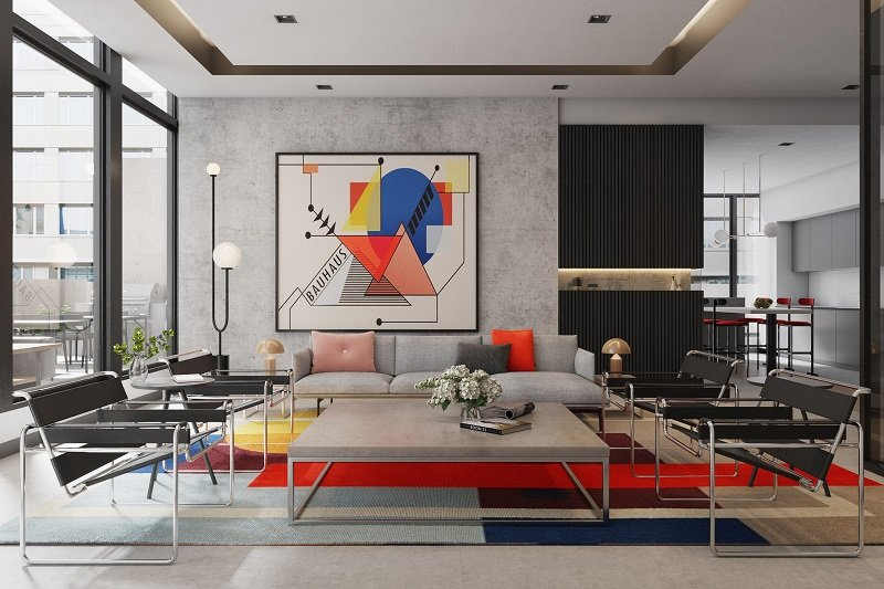 Bauhaus party room
